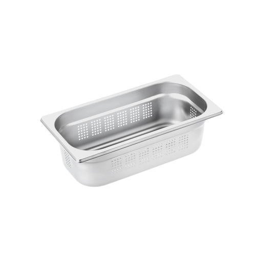 DGGL 6 Perforated steam cooking container product photo Front View L