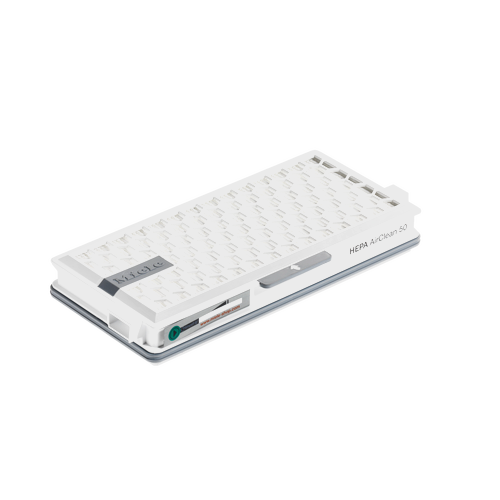 SF HA 50 HEPA AirClean filter with timestrip® product photo Back View L