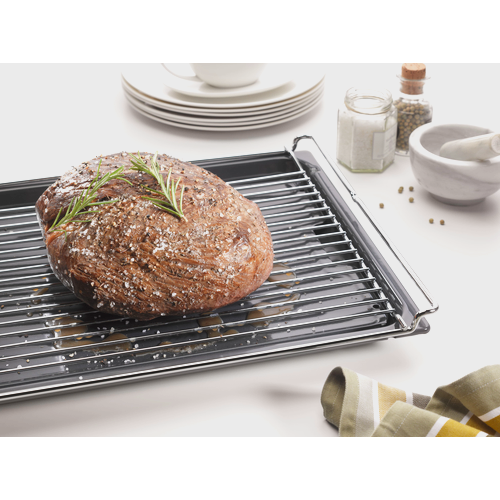 HGBB 51 Grilling and roasting insert for universal tray product photo Back View L