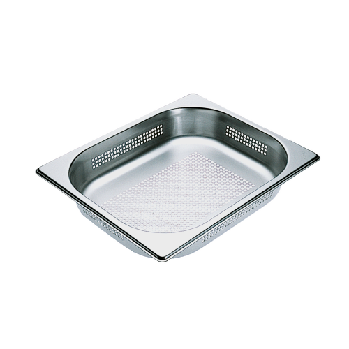 DGGL 4 Perforated steam cooking containers product photo Front View L