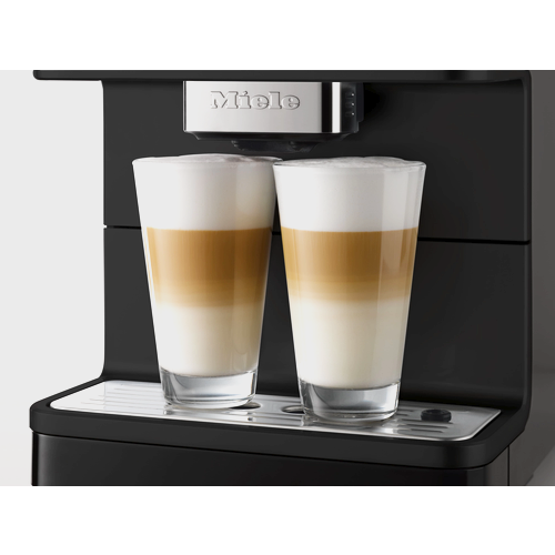 CM 6150 Benchtop Coffee Machine - Obsidian Black product photo Back View L