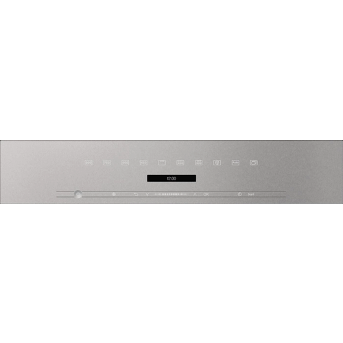 M 7244 TC VitroLine Graphite Grey Built-in Microwave oven product photo Back View L