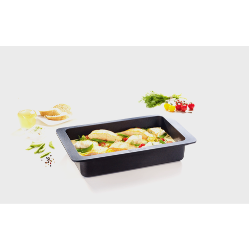 HUB 5001-M Induction gourmet casserole dish product photo Laydowns Detail View L