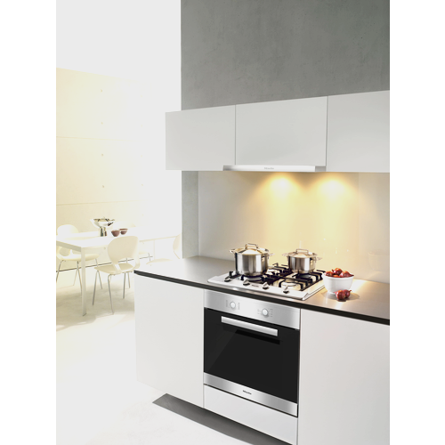 KM 2012 G Stainless Steel Gas Cooktop product photo Back View L