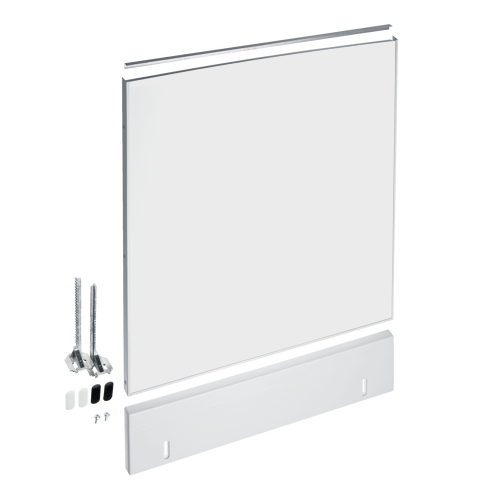 GDU 60/60-1 Integrated dishwasher 60cm door panel - White product photo Front View L