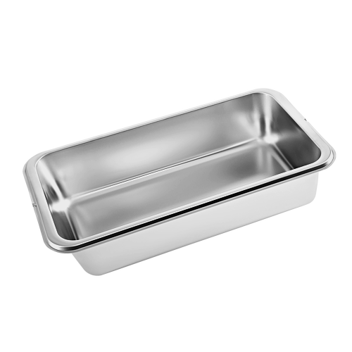 DGG 1/2 - 80L Unperforated steam cookingcontainer product photo Front View L
