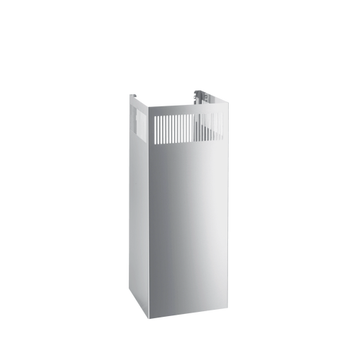 DATK 1-760 Stainless Steel Chimney Extension 760mm product photo Front View L