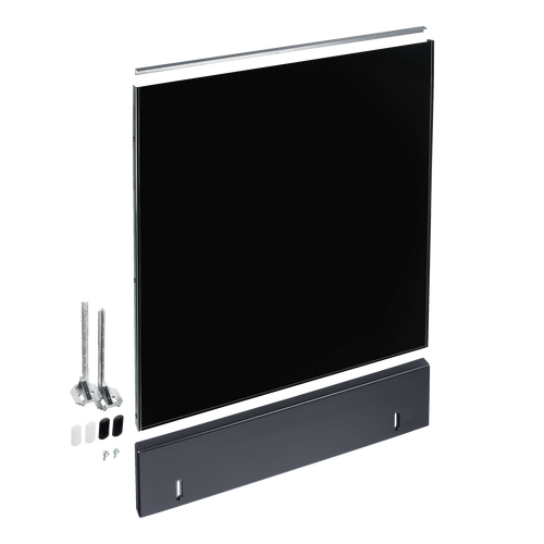 GDU 60/60-1 Integrated dishwsher 60cm door panel - Black product photo Front View L