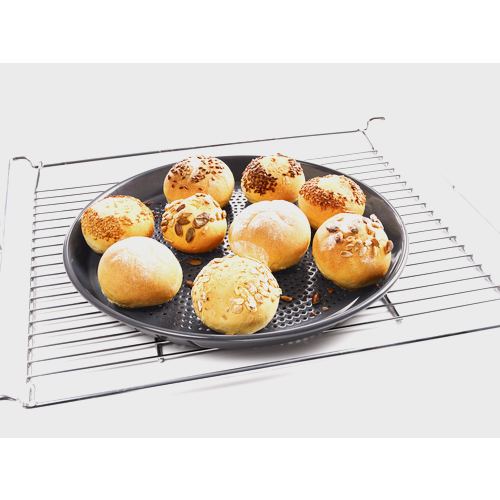 HBFP 27 Round Perforated Baking Tray product photo Laydowns Detail View L