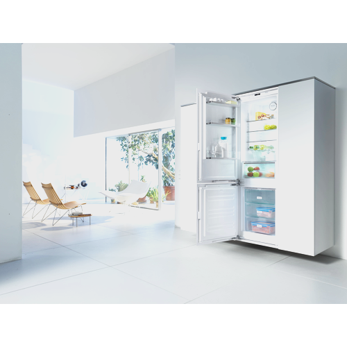 KFNS 37432 iD Integrated Fridge / Freezer Combination product photo Back View L