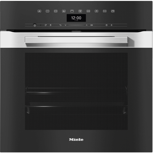 H 7464 BP PureLine CleanSteel Pyrolytic Oven product photo