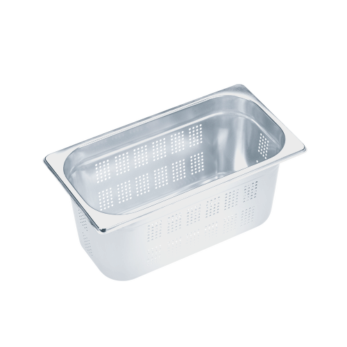 DGGL 10 Perforated steam cooking container product photo Front View L