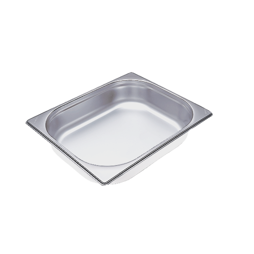 DGG 3 Unperforated steam cooking container product photo Front View L