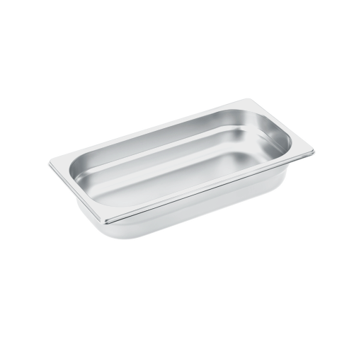DGG 2 Unperforated steam cooking container product photo Front View L