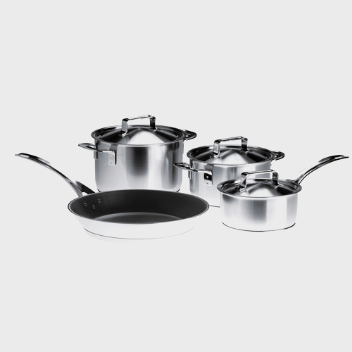KMTS 5704-1 Induction Cookware Set product photo Front View L