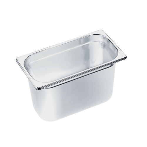 DGG 18 Unperforated steam cooking container product photo Front View L