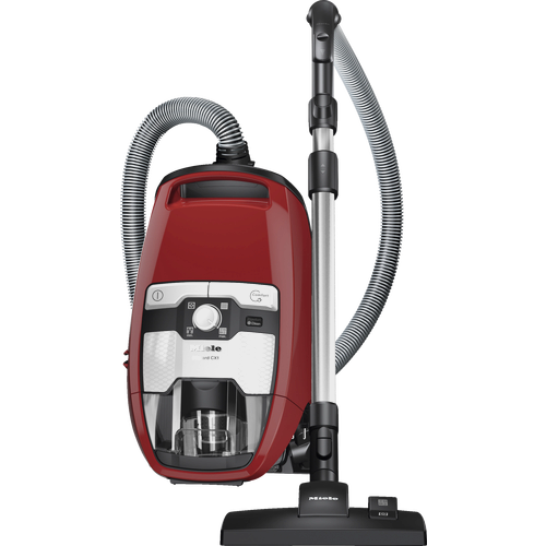 Blizzard CX1 Red PowerLine - SKRR3 Bagless cylinder vacuum cleaners product photo Front View L