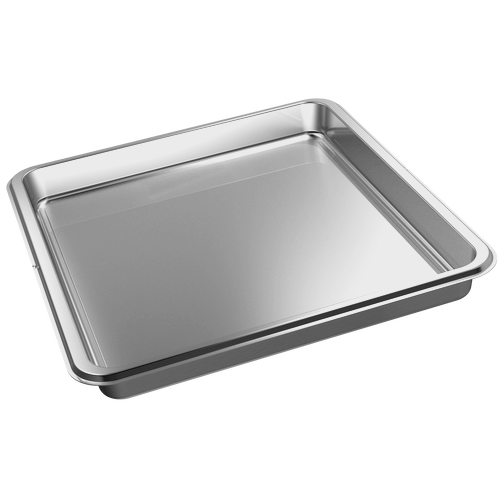 DGG 100 40 Unperforated steam cooking container product photo Front View L