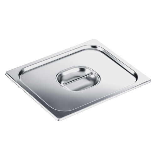DGD 1/2 Stainless steel lid product photo Front View L