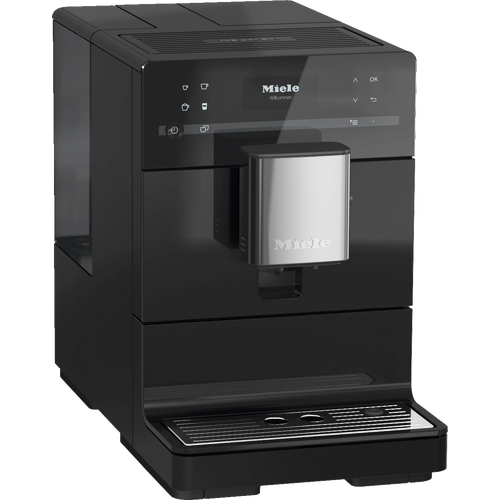 CM 5310 Silence Benchtop coffee machine - Obsidian Black product photo Laydowns Detail View L