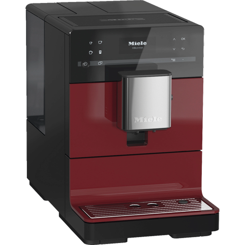 CM 5310 Silence Benchtop coffee machine - Tayberry Red product photo Laydowns Detail View L