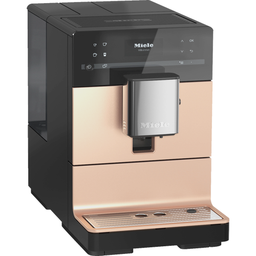CM 5510 Silence Benchtop coffee machine - Rose Gold product photo Back View L