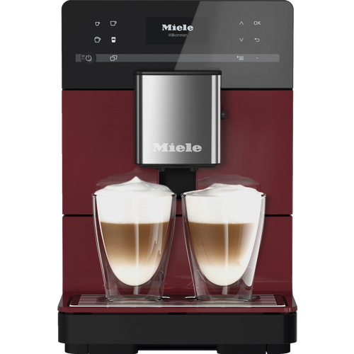 CM 5310 Silence Benchtop coffee machine - Tayberry Red product photo