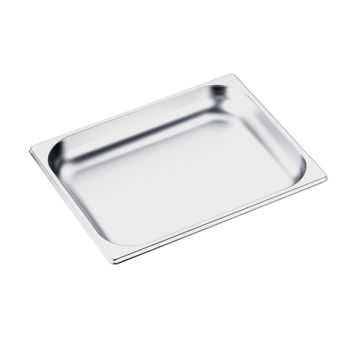 DGG 15 Unperforated steam cooking container product photo Front View L