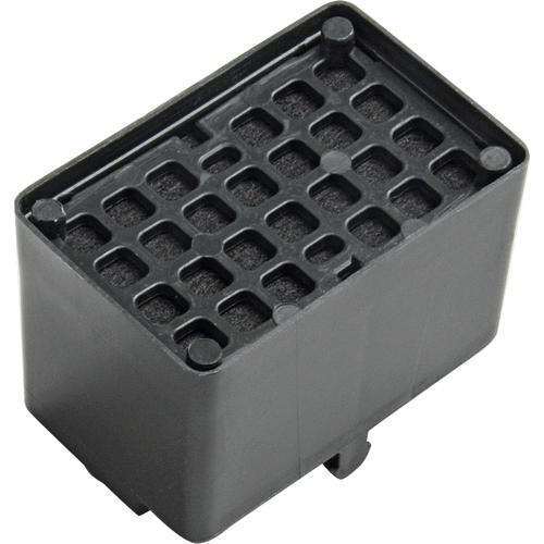 KKF-KWT Active charcoal filter product photo Front View L