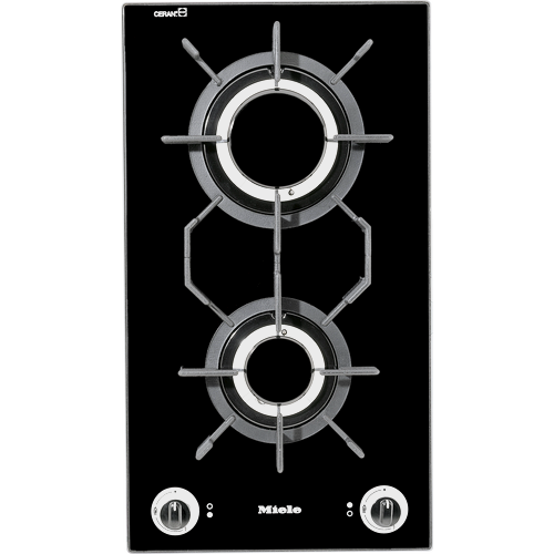KM 405 LPG Gas Hob with Two Burners product photo Front View L