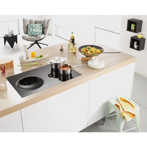 KM 6356 Induction hob with onset controls product photo View31 L
