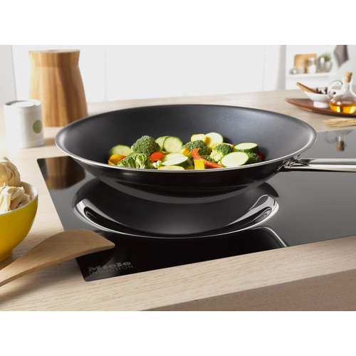 KM 6356 Induction hob with onset controls product photo Laydowns Back View L