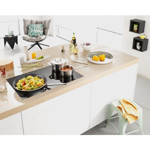 KM 6356 Induction hob with onset controls product photo View3 L