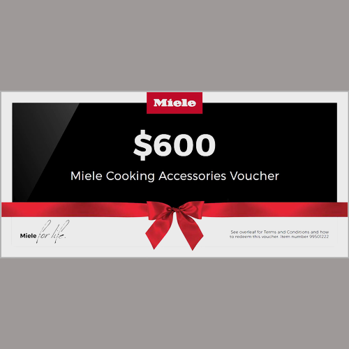 $600 Cooking Accessories Voucher product photo Front View L