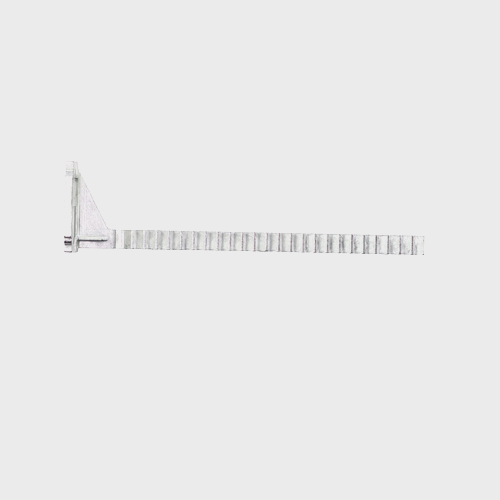 Miele Dishwasher Rail - Spare Part 06263752 product photo Back View L