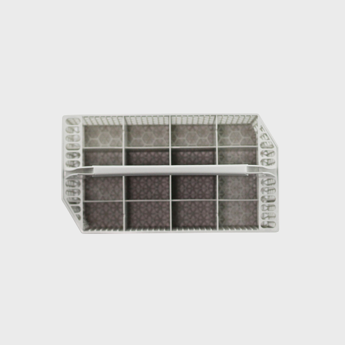 Miele Dishwasher Cutlery Basket - Spare Part 06024710 product photo Back View L