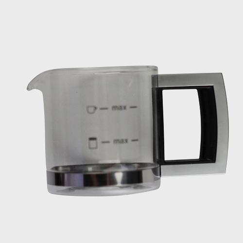 Miele Coffee Machine Glass Jug - Spare Part 06154421 product photo Front View L