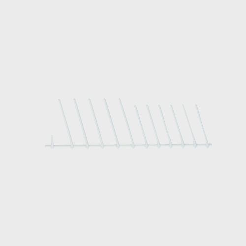 Miele Dishwasher Row of Spikes - Spare Part 07506620 product photo Front View L