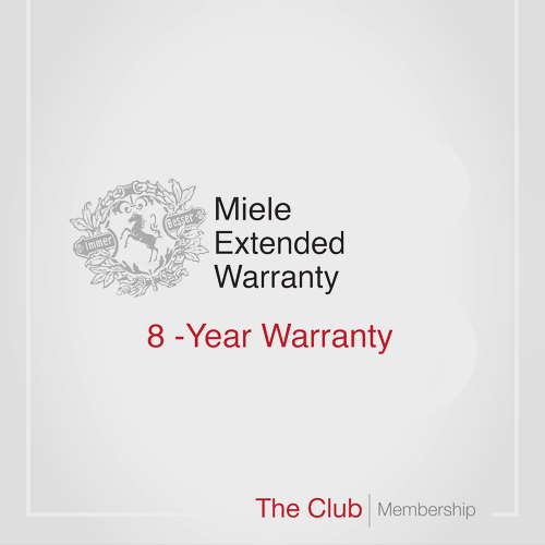 Early bird offer: 8-year warranty & Club Membership product photo Front View L