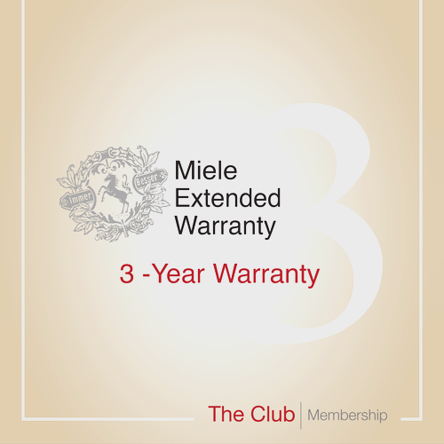 Early bird offer: 3-year warranty & Club Membership product photo Front View L