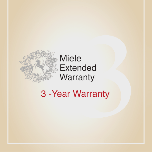 Early bird offer on our 3-year extended warranty product photo Front View L