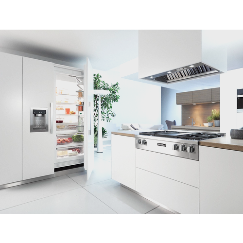 DAR 1130 Freestanding Cooker Extractor unit product photo Back View L