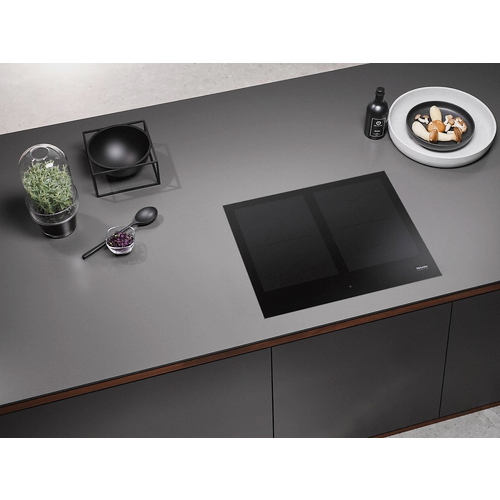 KM 7564 FL Induction cooktop product photo Back View L