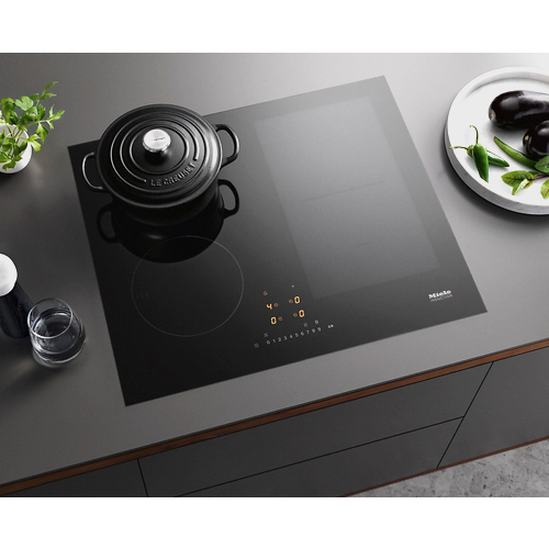 KM 7464 FL Induction cooktop product photo Back View L