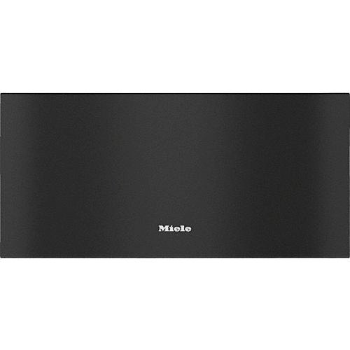 ESW 7020 Obsidian Black Gourmet Warming drawer product photo Front View L