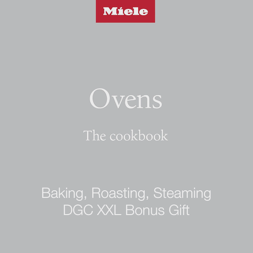 DGC XXL Baking Roasting Steaming Cookbook Voucher Redemption product photo Front View L